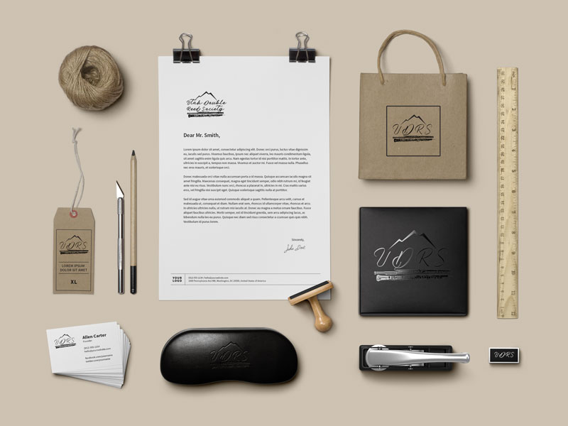 Utah Double Reed Society Log and Brand Identity