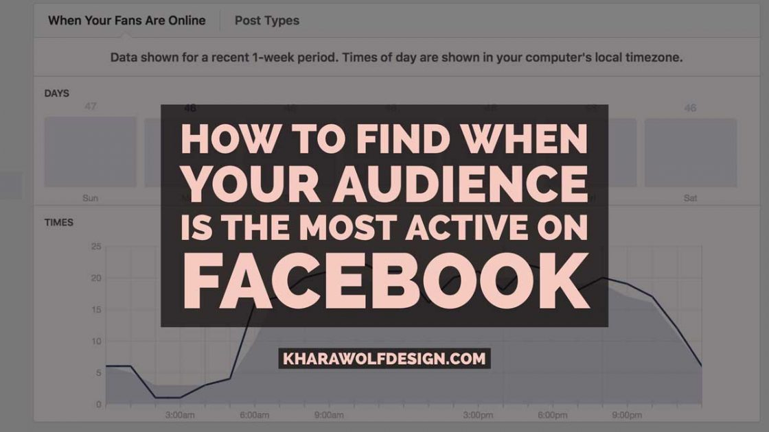 How to find when your audience is the most active on Facebook